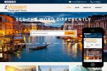 zVossen Free Html5 Website Template