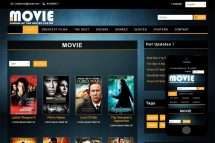 zMovie Free Html5 Website Template