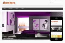 zFurniture 1 Free Html5 Website Template