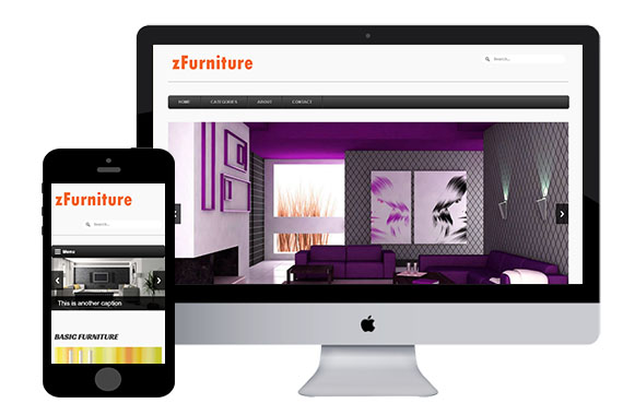 zFurniture Free Responsive Html5 Templates