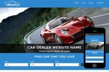 zBlueCar Free Html5 Website Template