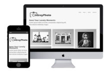 zGrayPhoto Free Responsive Html5 Template