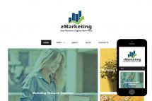 zMarketing Free Html5 Website Template