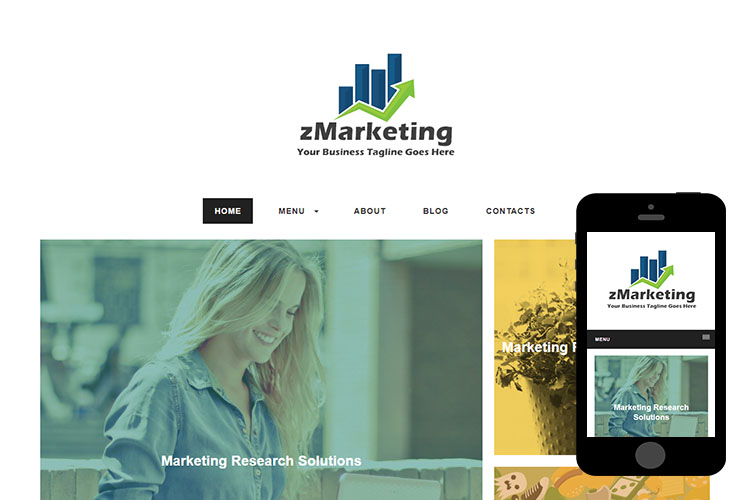 zMarketing – Free Responsive Html5 Template