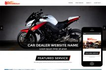 zRedBiker Free Html5 Website Template