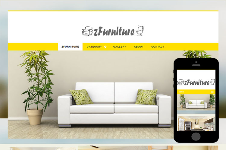 zFurniture Free Html5 Website Template