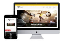zSoccer Free Responsive Html5 Template