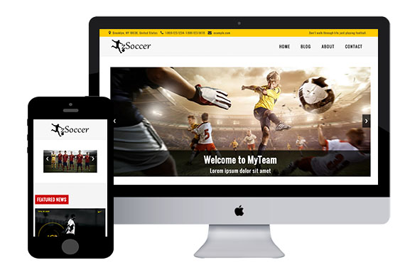 Zsoccer free responsive html5 template zerotheme for Free website templates html5