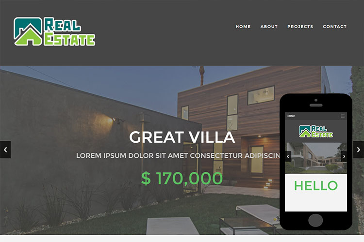 zRealEstate – Free Responsive Html5 Template