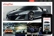 zKingMan Free Html5 Website Template