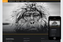 zAnimal Free Html5 Website Template