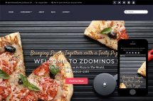 zDominos Free Html5 Website Template