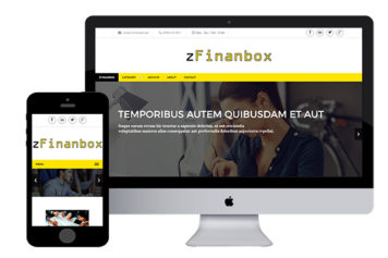 zFinanbox – Free Responsive Html5 Template
