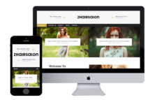 zHairSalon Free Responsive Html5 Template