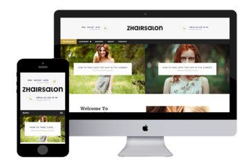 zHairSalon – Free Responsive Html5 Template