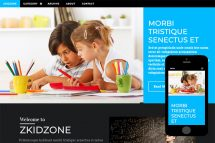 zKidzone Free Html5 Website Template