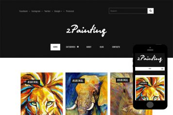 zPainting Free Html5 Website Template