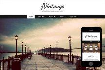 zVintauge Free HTml5 Website Template