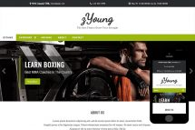 zYoung Free Html5 Website Template