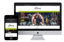 zYoung free responsive html5 template