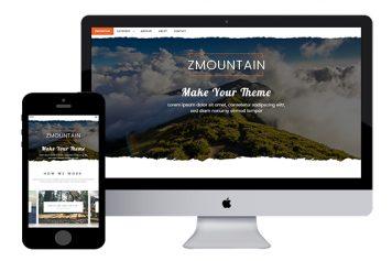 zMountain – Free Responsive Html5 Template