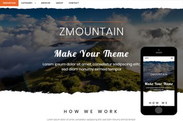 zMountain Free Html5 Website Template