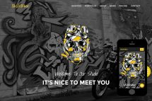 Skull-Biker-Free-Bootstrap-Themes-and-Free-Responsive-Html5-Templates