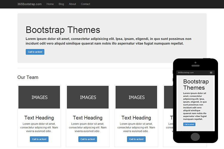 #006 – Free Basic Bootstrap Theme
