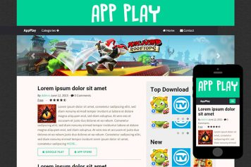 zAppPlay-Free-Bootstrap-Themes-and-Html5-Templates