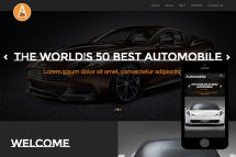 zAutomobile-free-bootstrap-theme-and-html5-template