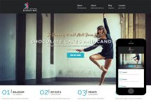 zDancing-Free-Bootstrap-Theme