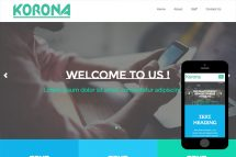 zKorona-Free-Bootstrap-Theme-and-Html5-Template