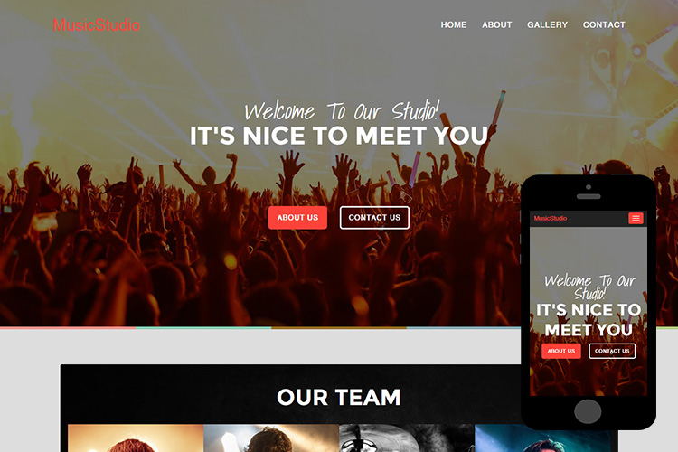 zMusicStudio-Free-Bootstrap-Themes-and-Html5-Templates