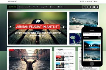 zNewsPaper-Free-Bootstrap-Themes-and-Html5-Templates