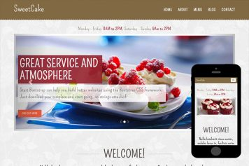 zSweetCake-Free-Bootstrap-Theme-and-Html5-Template