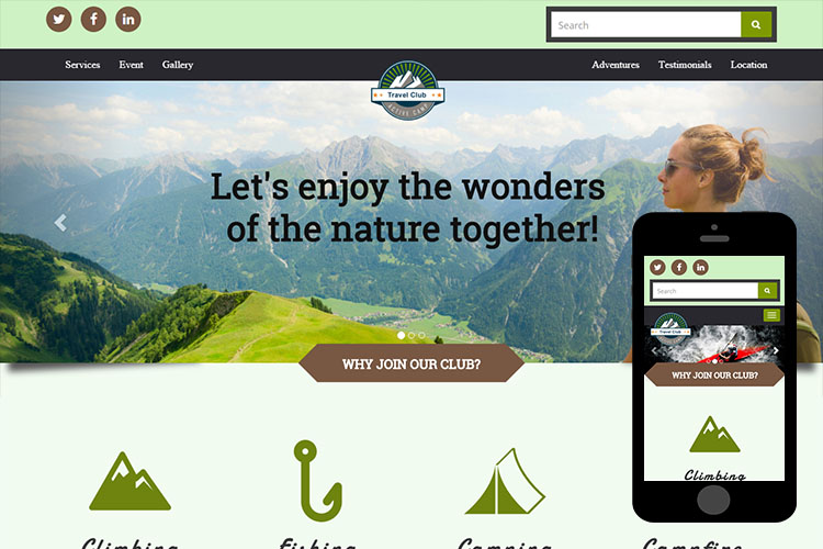 zTravelClub-Free-Bootstrap-Theme-and-Html5-Template
