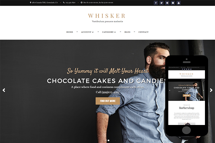 zWhisker – Free Bootstrap Theme