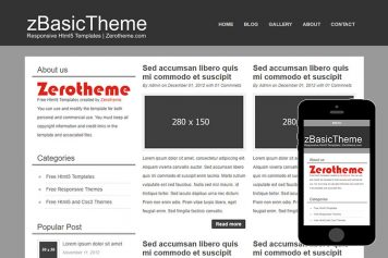 zBasicB002 Free Html5 Website Template