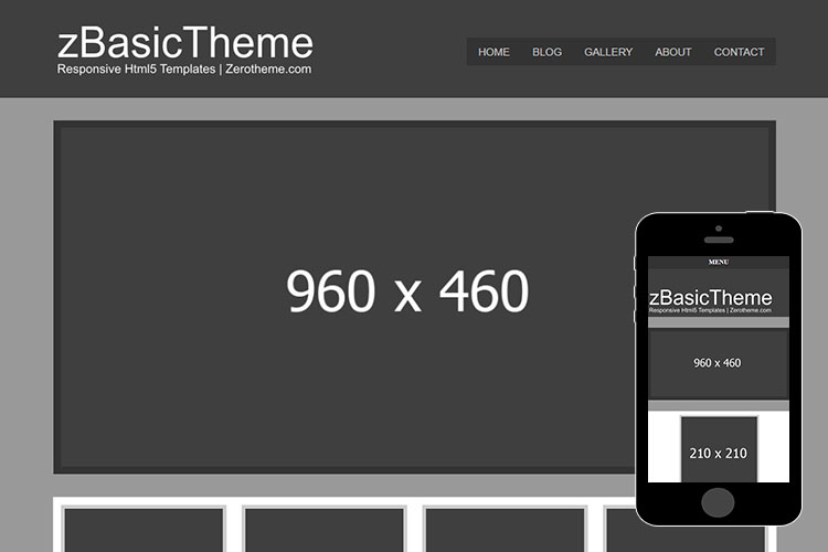 zBasicH002 Free Html5 Website Template