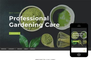 zMatcha Free Html5 Website Template