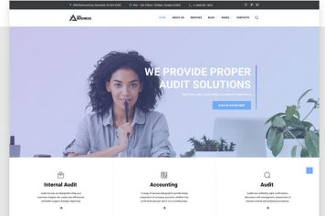proBusiness - Elegant Audit Company Multipage HTML Website Template