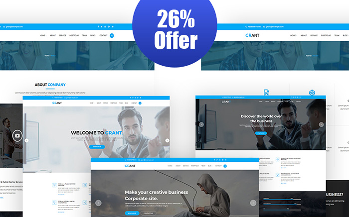 Grant Responsive WordPress Theme