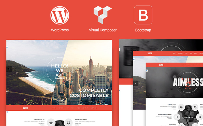 Master - Creative Multi Purpose WordPress Theme