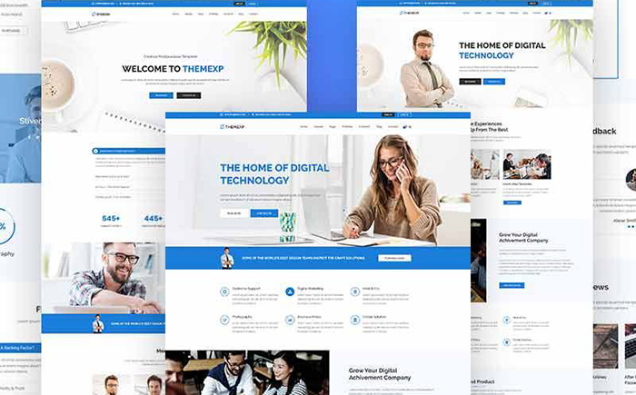 15 Business Bootstrap WordPress themes
