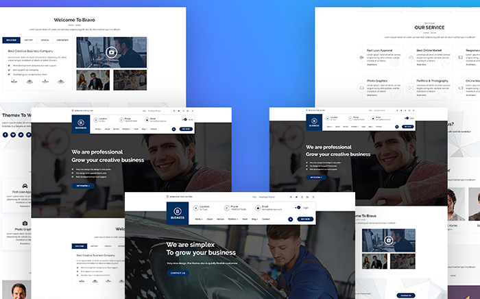 Bravvo - Corporate WordPress Theme
