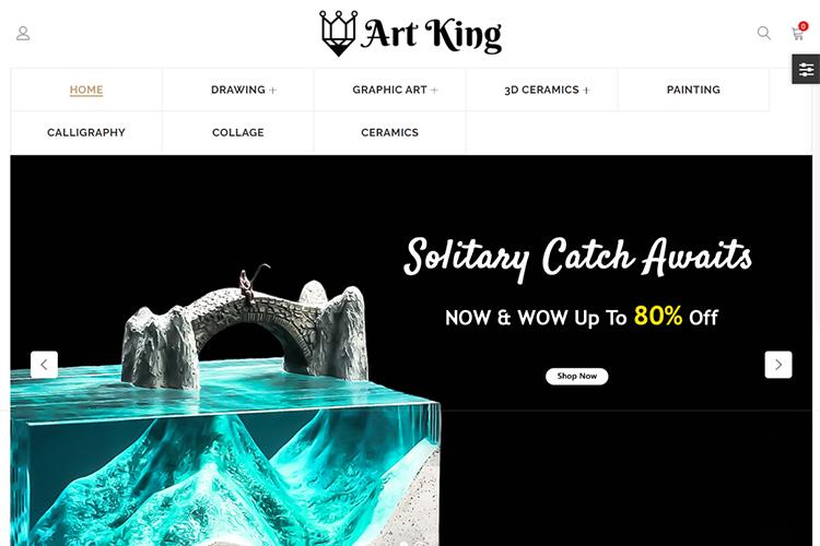 Art King OpenCart Template