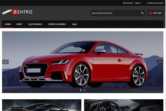 Bentriz - Free Auto Parts Magento 2 Theme _ Responsive Theme for Magento 2