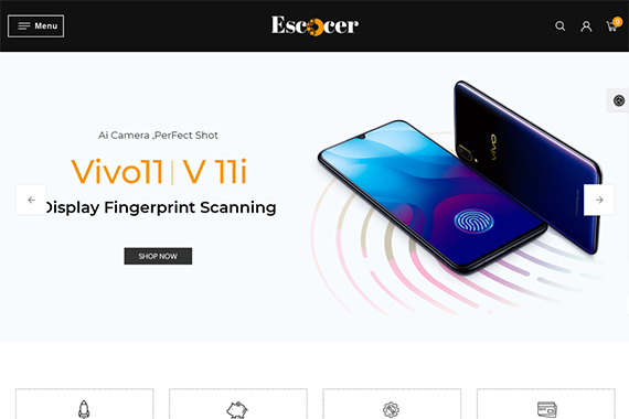 Escocer Electronics OpenCart Theme