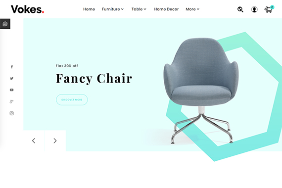 Furniture Store free prestashop theme