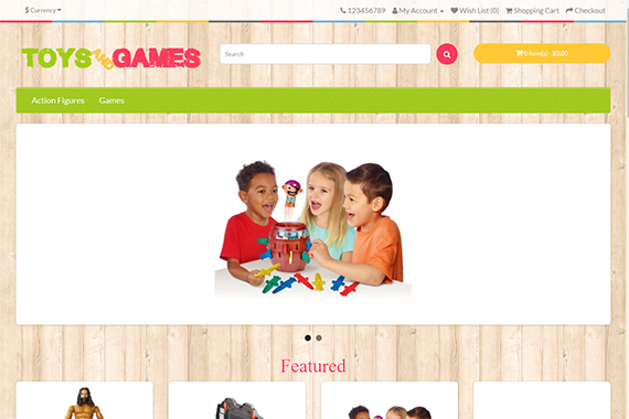 ToyGame Free Opencart Themes